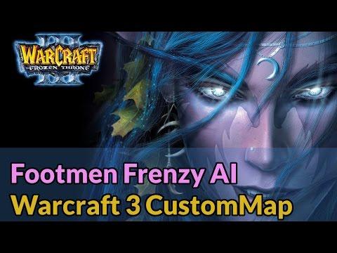 Footmen Frenzy AI - Warcraft 3 Funmaps - Let's Play [Deutsch]