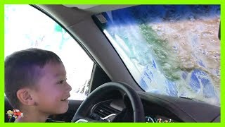 Kruz Drives His Mom's Car And Goes To The Car Wash!  Pretend Play on KV Show - Stafaband