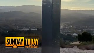 Mysterious Monolith Appears - And Vanishes - In 3rd Location | Sunday TODAY