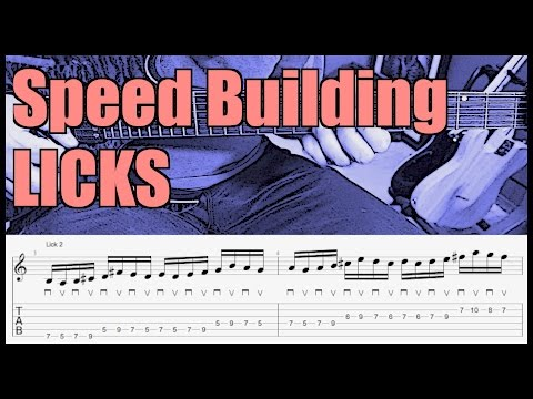 5 Alternate Picking Licks That Help You Play Fast