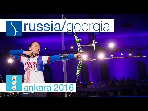 Russia v Georgia – Recurve Women's Team Bronze Final | Ankara 2016