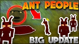 🐜ANT PEOPLE🐜NEW UPDATE! - New Gods, Huge Caves, Etc. | Roblox: Booga Booga