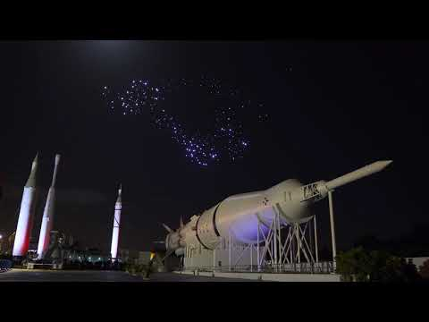 Studio Drift: 300 drones at NASA's Kennedy Space Center with Duran Duran