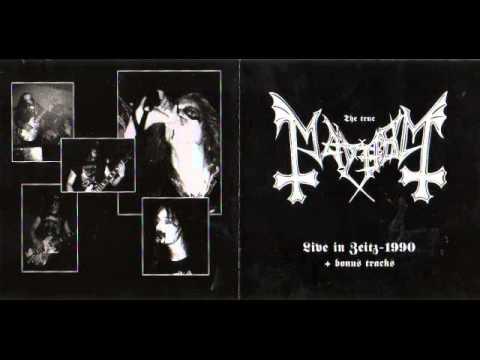Mayhem -  Live In Zeitz-1990 (Full Bootleg Album)