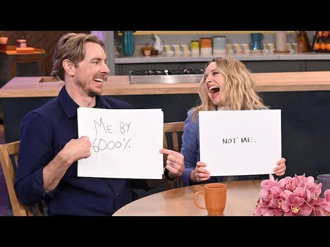 How Well Do Kristen Bell + Dax Shepard Really Know Each Other?