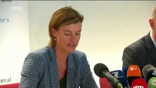 Persconferentie parket - Matchfixing en fraude in Belgisch voetbal
