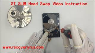 Seagate SLIM Head Swap Video Instruction