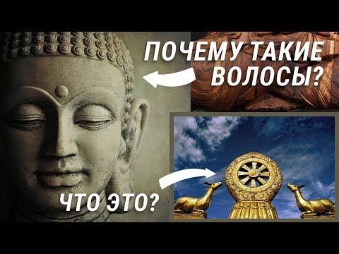 Символ Буддизма. Статуи Будды. Причёска и волосы Будды. Основы буддизма.