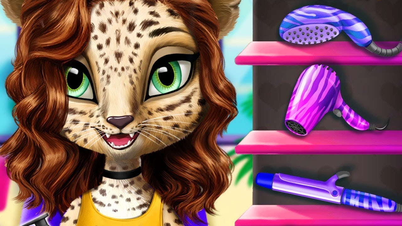 Fun Animal Hair Salon, Color, Cut, Style Cute Pet Hair Care