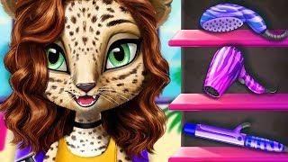 Fun Animal Hair Salon, Color, Cut, Style Cute Pet Hair Care Makeover Kids & Girls Games