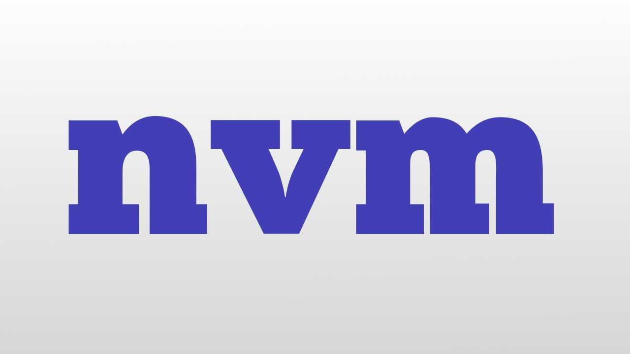 Image result for NVM