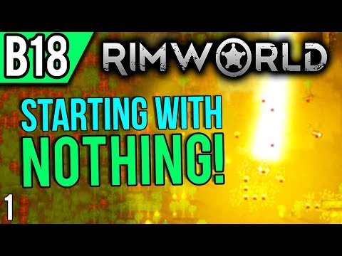 RimWorld Beta 18 | Coastal Swamp (Let's Play RimWorld / Gameplay Part 1)