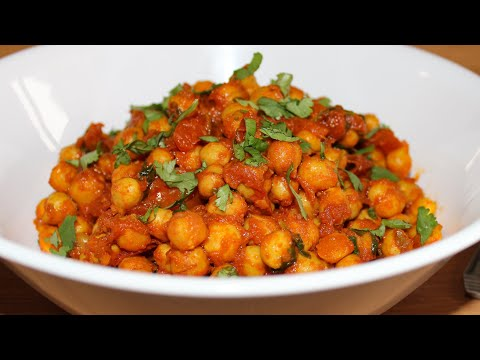 Chickpea Stir fry (Vegan) | Quick & Healthy Vegan Recipe | Gluten-free & Dairy-free