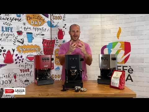 Gaggia Classic Pro Color Review By Caffè Italia