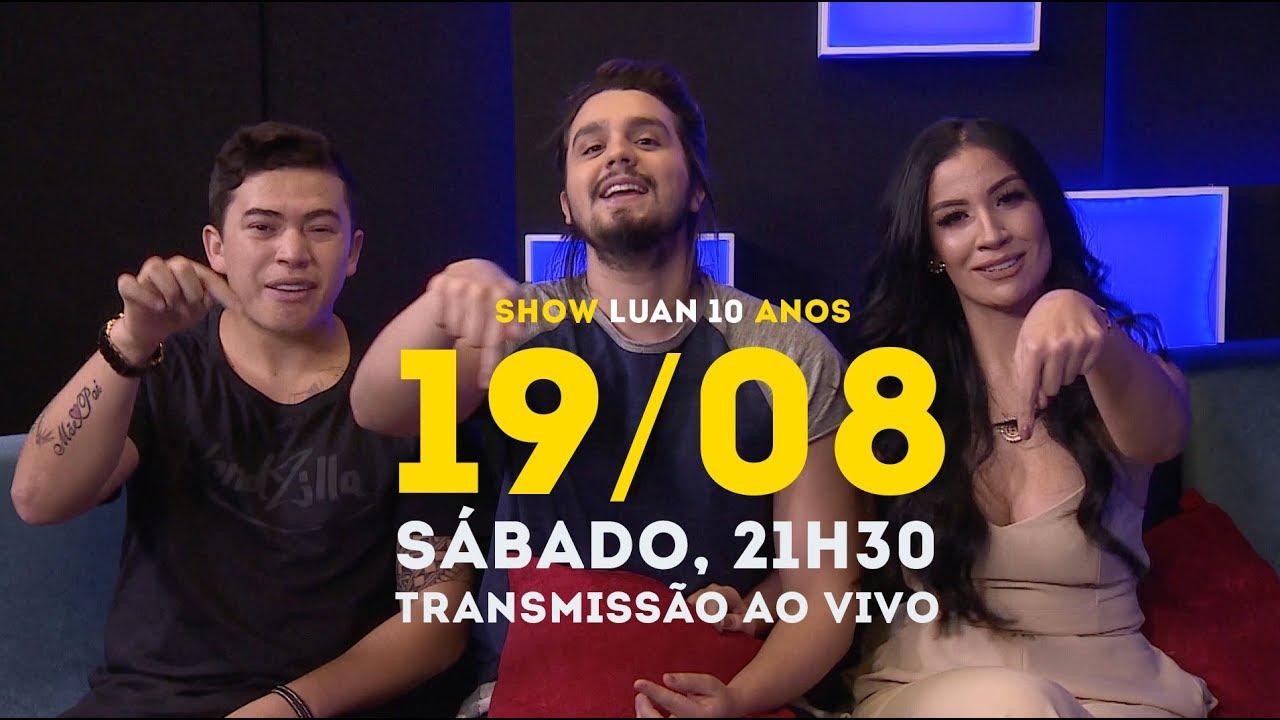 Luan Santana - Chamada Transmissão Show 10 anos dia 19 08 - YouTube 64cec749e56d6