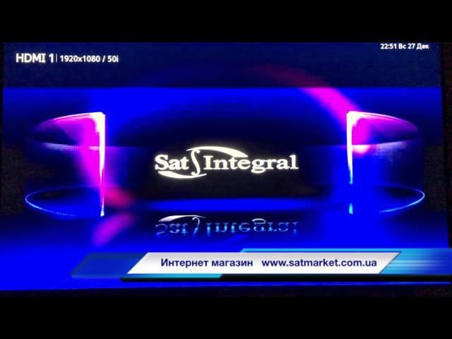 Видео обзор прошивка Sat-Integral S-1224 HD Stealth modern
