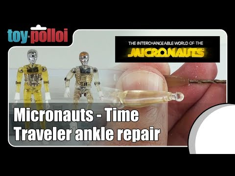 Fix it Guide - Micronauts Time traveler ankle repair guide