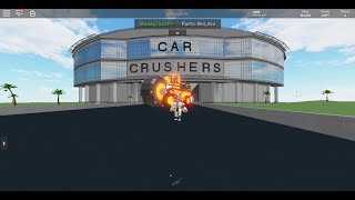 💵 MINER 💵 w Car Crushers 2 I #ROBLOX I Rubin R4