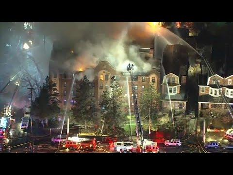فيديو: حريق ضخم  داخل مبنى في ولاية فيلادلفيا والأسباب لاتزال مجهولة…  - نشر قبل 2 ساعة