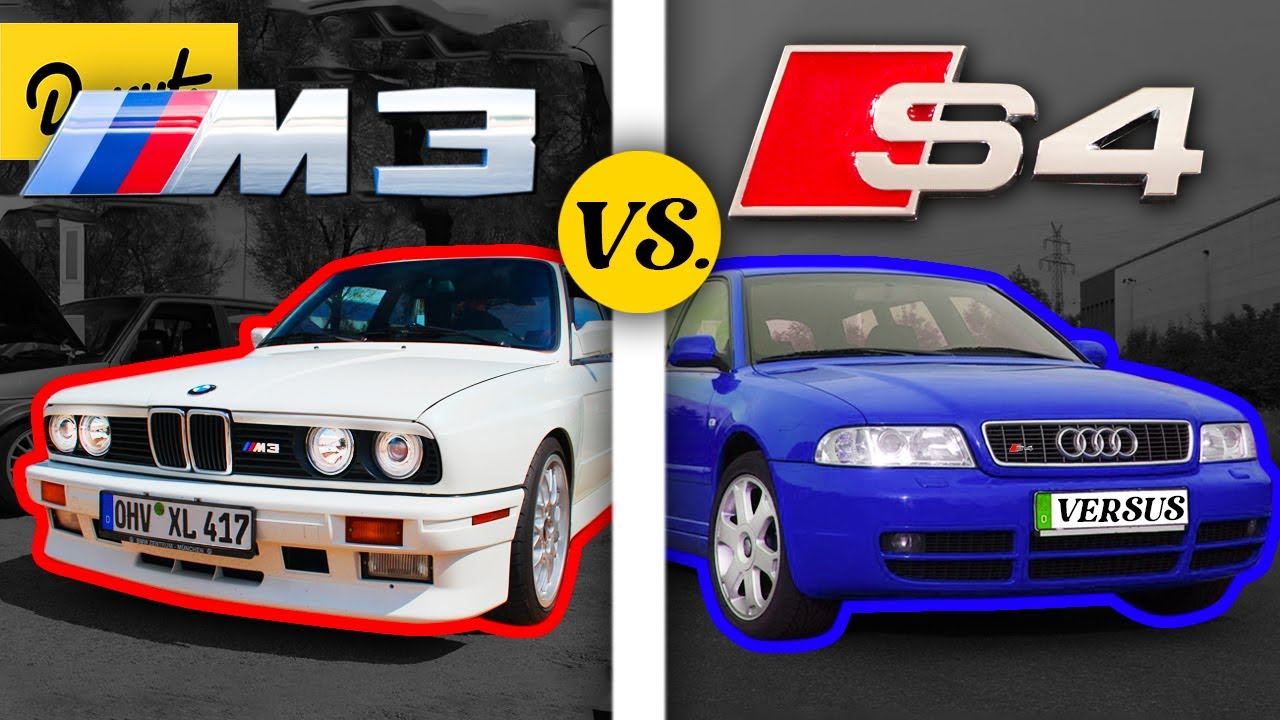 Download BMW M3 vs Audi S4 - Which German car is SUPERIOR?