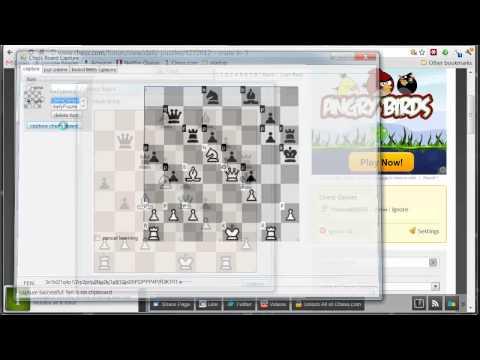 chess diagram image capture tool