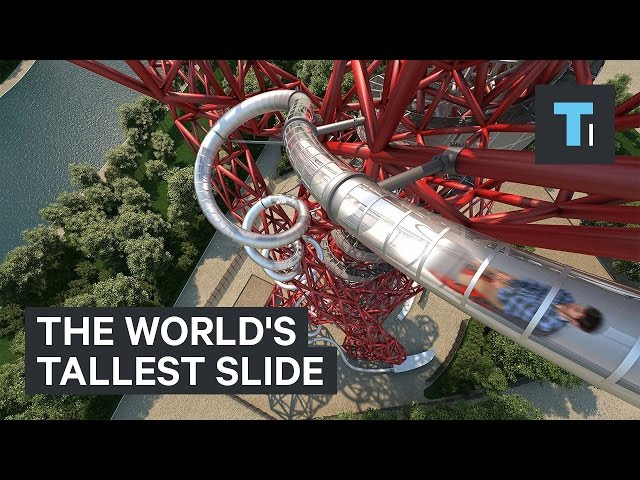 The world's tallest slide