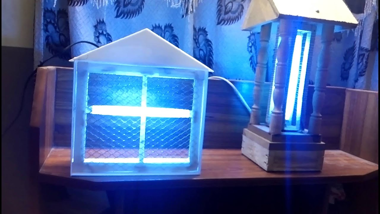 Homemade Insect Killer Electric Youtube