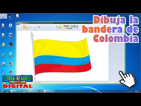 aprende-a-dibujar-la-bandera-de-colombia-en-ms-paint
