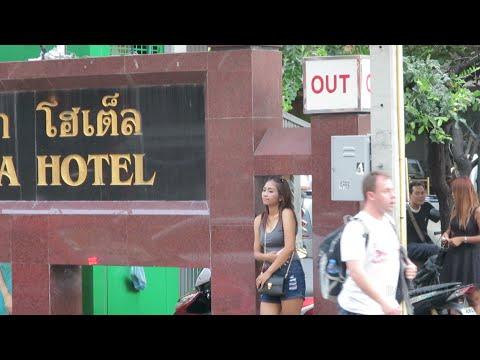 Soi 4 Daytime Video The By Nana Hotel Sign Bangkok 112