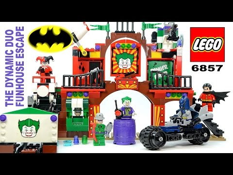 Marvel DC lego mini figure THE RIDDLER batman 6857