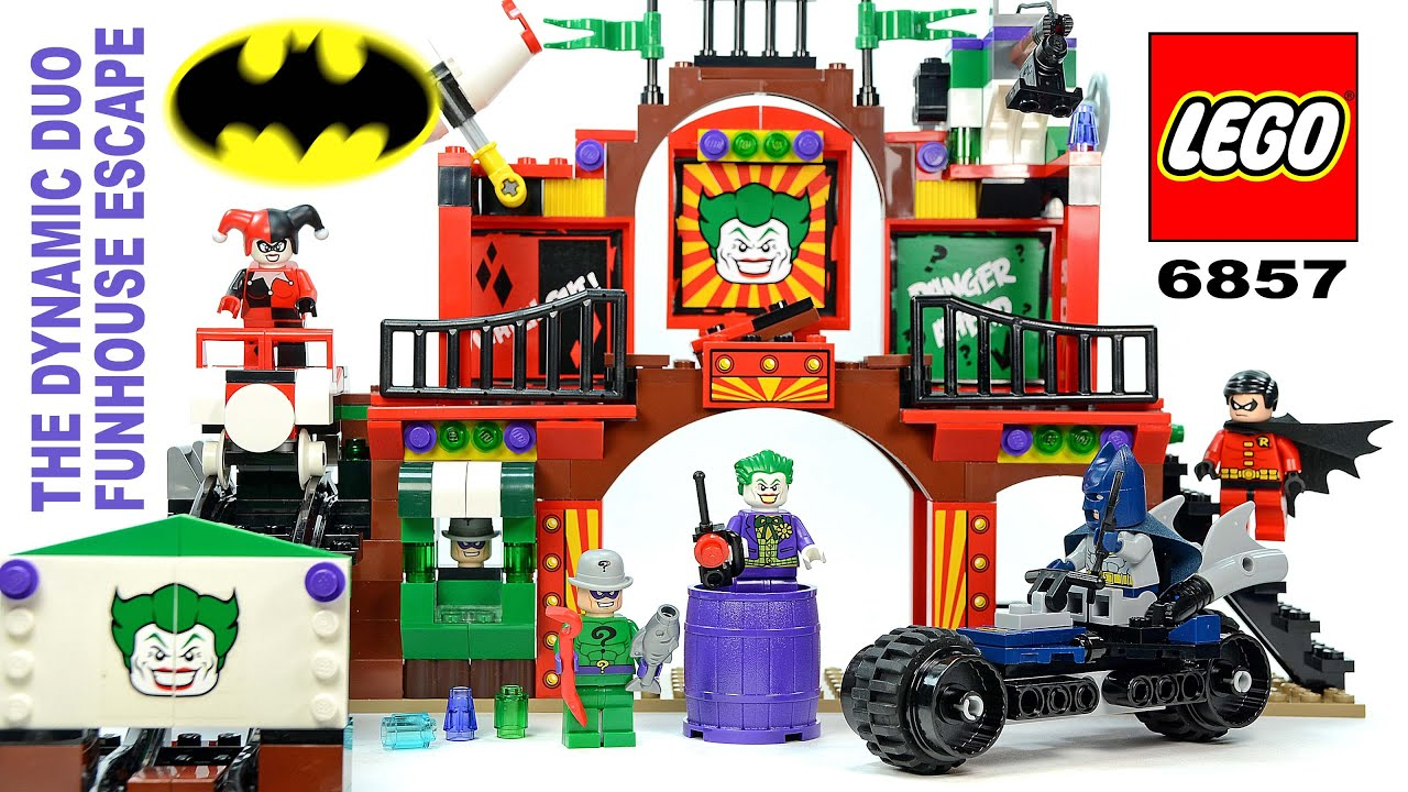 LEGO Batman: The Dynamic Duo Funhouse Escape 6857 w ...