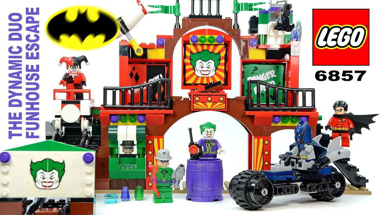 LEGO Batman: The Dynamic Duo Funhouse Escape 6857 w