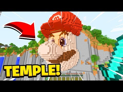 Minecraft: We Found The TEMPLE Of MARIO! (Ps3/Xbox360/PS4/XboxOne/PE/MCPE)