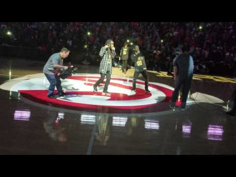 Migos performing at Philips Arena