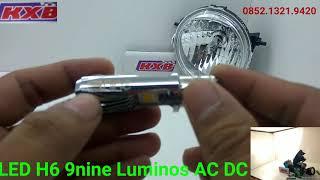 Lampu Depan Led 9nine Luminos H6 Semua Motor Wa 0852.1321.9420 atau 089.8710.5157 Lampu depan Motor Type H6 Original 9 Nine Luminos AC DC ...