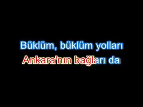 Ankara'nın bagları karaoke versiyon