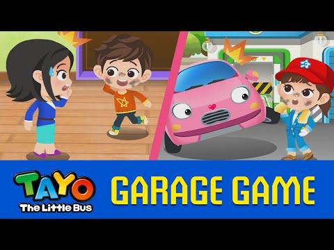(EN) [Tayo Garage Games] #06 Washing Face