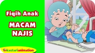 macam macam najis belajar fiqih anak bersama diva kastari animation official