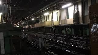 【夜間回送】阪神線内を回送されるのせでん車両