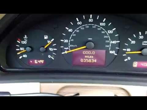Mercedes Benz E320 - Dash How-To / Review