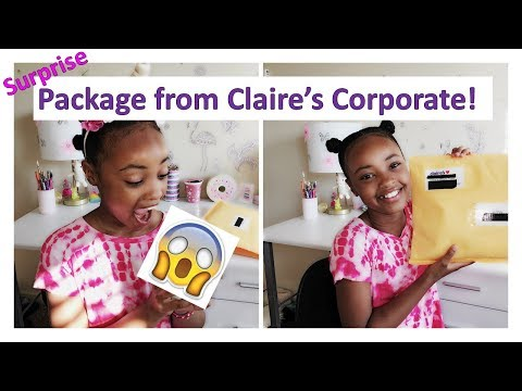 unboxing-claire's-welcome-package