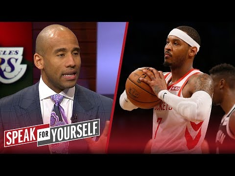 Dahntay Jones: The Lakers are not the right situation for Carmelo Anthony | NBA | SPEAK FOR YOURSELF