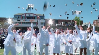 Scenes from Coast Guard Academy commencement 2017