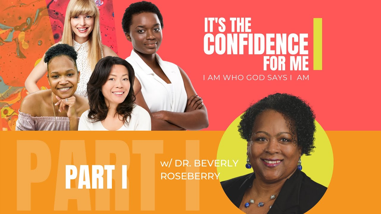 It's the Confidence For Me Series: I Am Who God Says I Am  |  PART I (Live)