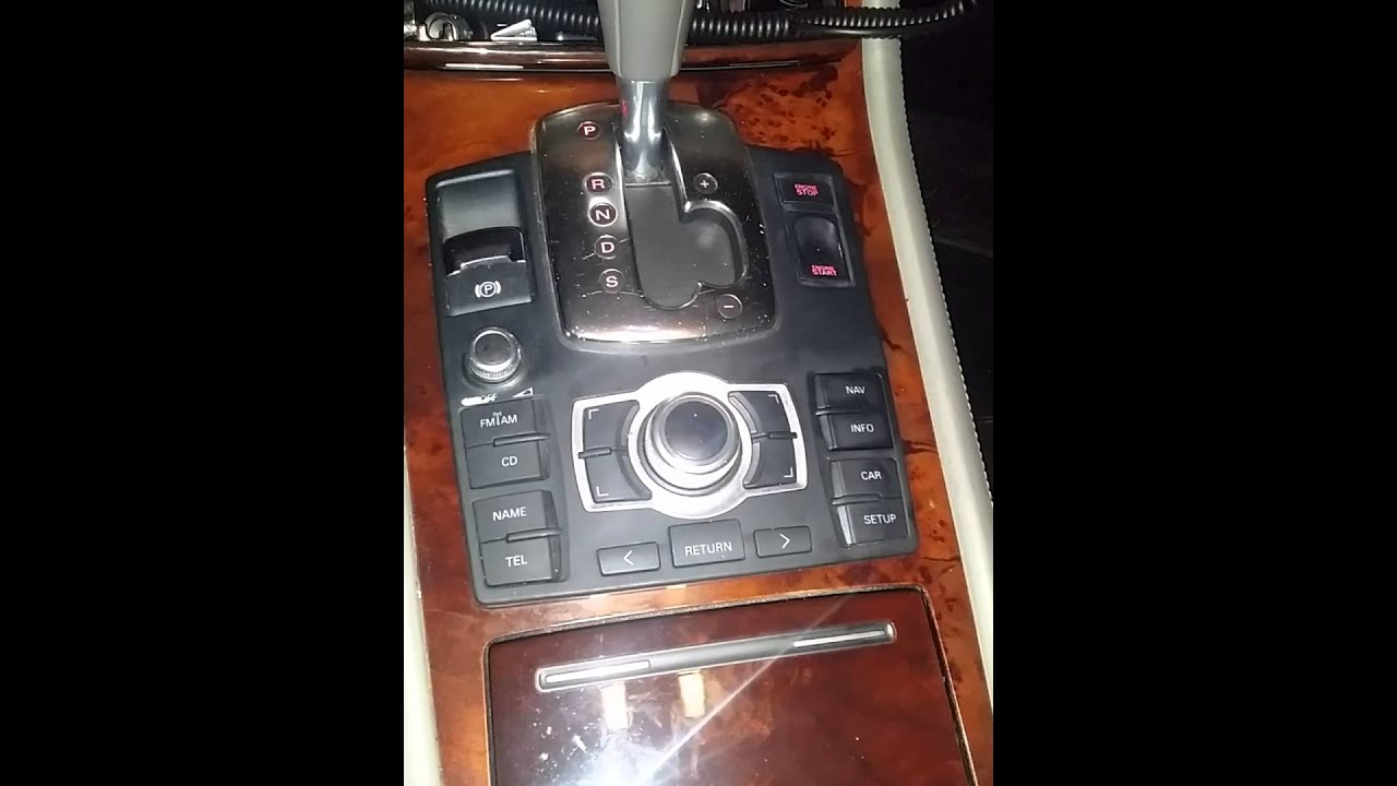 hight resolution of audi a8l mmi radio not working