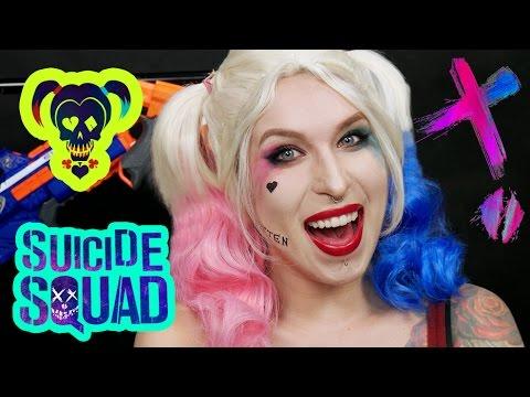 Makijaż Harley Quinn Z Suicide Squad Halloween Agnieszka