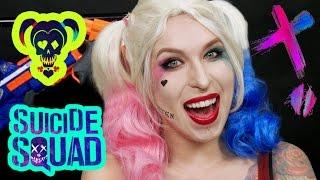 ♦ Makijaż Harley Quinn z Suicide Squad - Halloween ♦ Agnieszka Grzelak Beauty