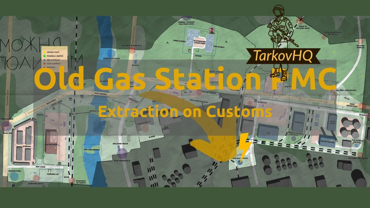 Customs Extractions Map And Video Guides Tarkovhq
