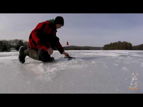 Ice Fishing NH  2017!