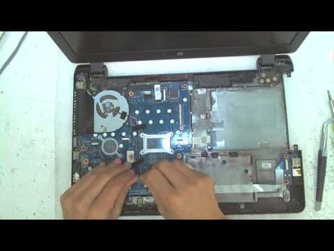 HP 350 G1 Disassembly / Fan Cleaning